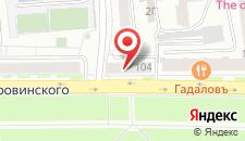 Апартаменты Гранд на Дубровинского 104 на карте
