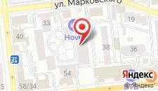 Хостел Лачуга на карте