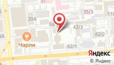 Гостиница Звездочка на карте