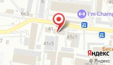 Гостиница Магнит на карте