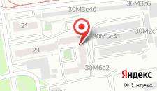 Отель Ваш визит на карте