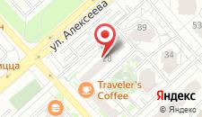 Апартаменты Люкс 33a-60 на карте