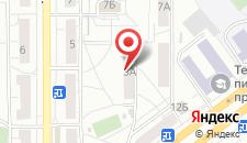 Апартаменты Гранд на Аэровокзальной 3а на карте