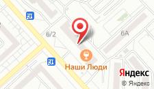 Апартаменты Гранд на Водопьянова на карте