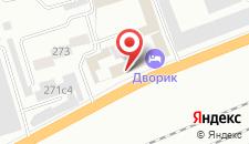 Гостиница Дворик на карте