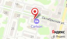 Отель Карлос на карте