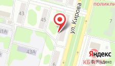 Апартаменты на Кирова 8 на карте