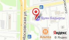 Отель Буян Бадыргы на карте