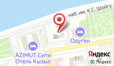 Гостиница Коттедж на карте