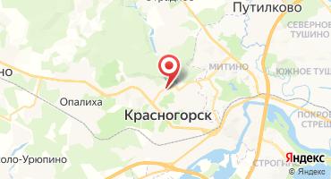 1-комнатная квартира 42.3 кв.м в ЖК Брусчатый поселок (Россия, Красногорск) на карте