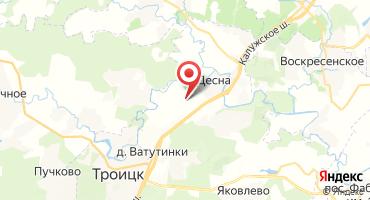 ЖК «Новые Ватутинки, мкр. Центральный» на карте