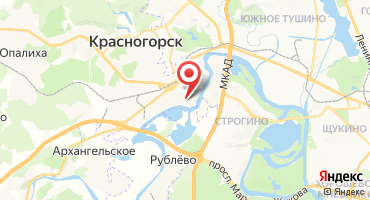 1-комнатная квартира 66.36 кв.м в Павшинская пойма, мкр. DELUXE (38) (Россия, Красногорск) на карте
