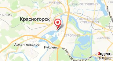 2-комнатная квартира 71.6 кв.м в ЖК Павшино-БЭСТ (Россия, Красногорск) на карте