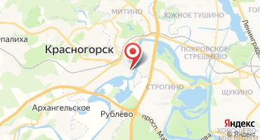 2-комнатная квартира 72.6 кв.м в ЖК Павшино-БЭСТ (Россия, Красногорск) на карте