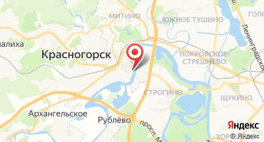 3-комнатная квартира 94.8 кв.м в ЖК Павшинская пойма мкрн. 4 (Россия, Красногорск) на карте