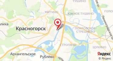 2-комнатная квартира 72.7 кв.м в ЖК Прибрежный (Россия, Красногорск) на карте