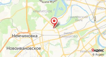 ЖК «На Истринской» на карте