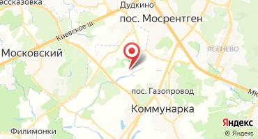 Квартал таунхаусов «Вяземское» на карте