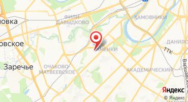 ЖК «Мосфильмовский» на карте