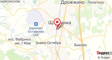 ЖК «Микрорайон «Щербинка» на карте