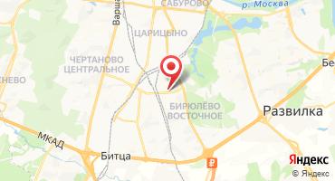 Микрорайон «Царицыно 2» на карте