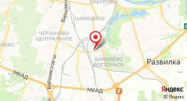 ЖК «Царицыно» на карте