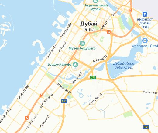Яндекс карта дубай на русском языке недвижимость оаэ купить