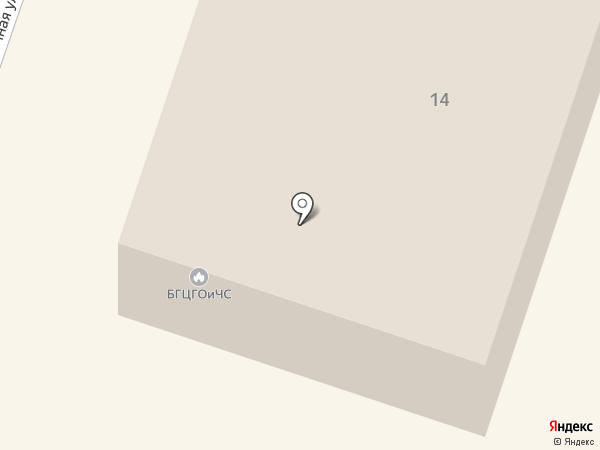 Центр ГО ЧС г. Братска на карте
