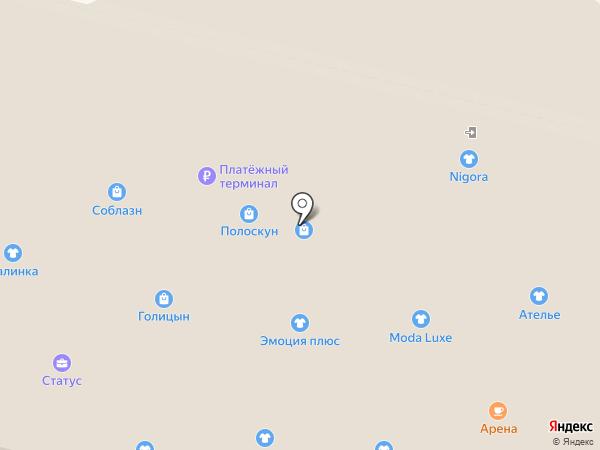 EuroMODA на карте