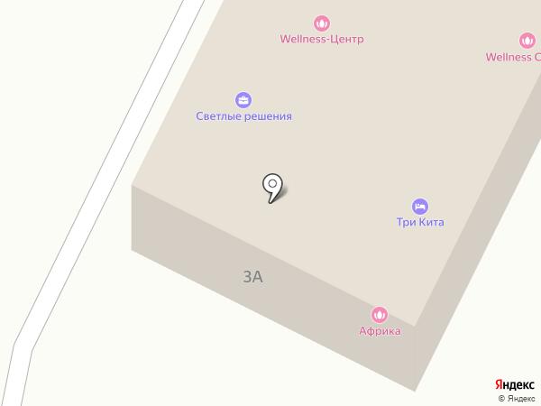 Светлые решения на карте