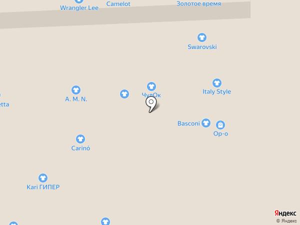 Camelot на карте