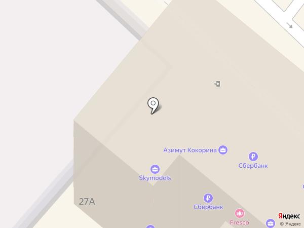 Сеть платежных терминалов, Сбербанк, ПАО на карте