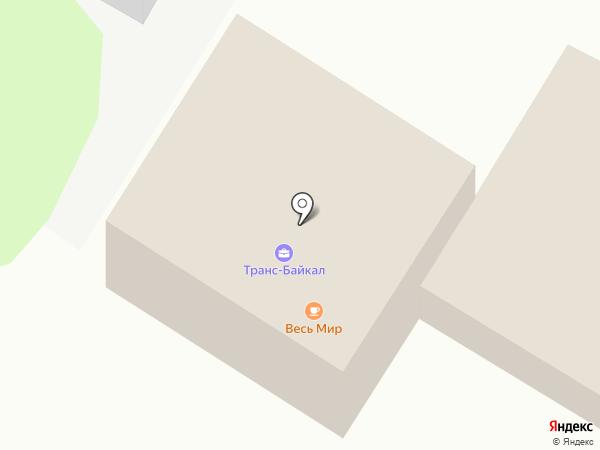 Транс-Байкал на карте