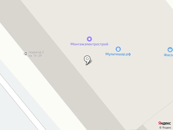 Монтажэлектрострой на карте