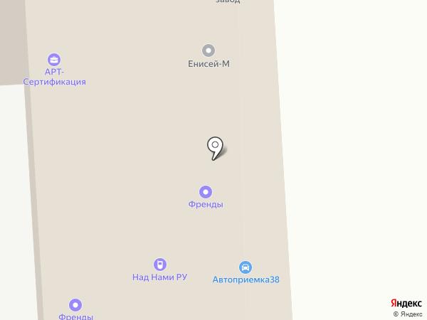 Бобкэт-Сибирь на карте