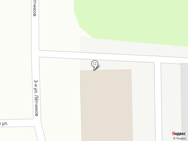 Автогаражный кооператив №83 на карте