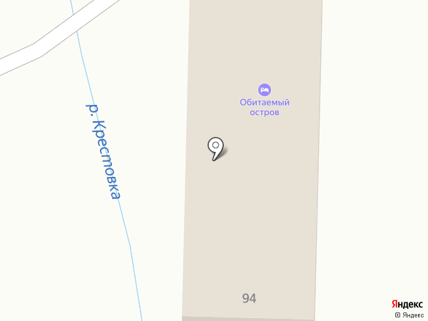 Обитаемый остров на карте