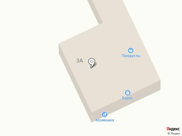 Барис на карте