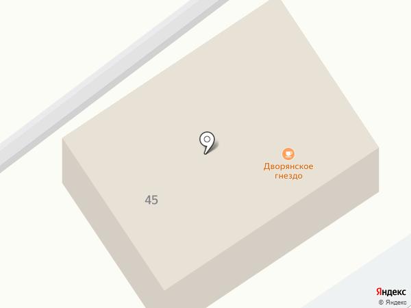 Дворянское гнездо на карте