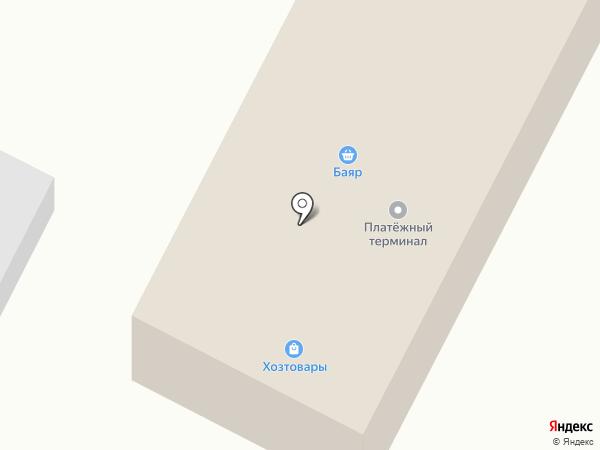 Баяр на карте