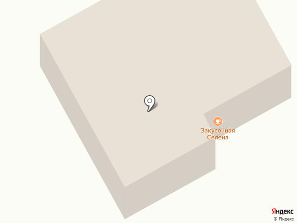 Селенга на карте