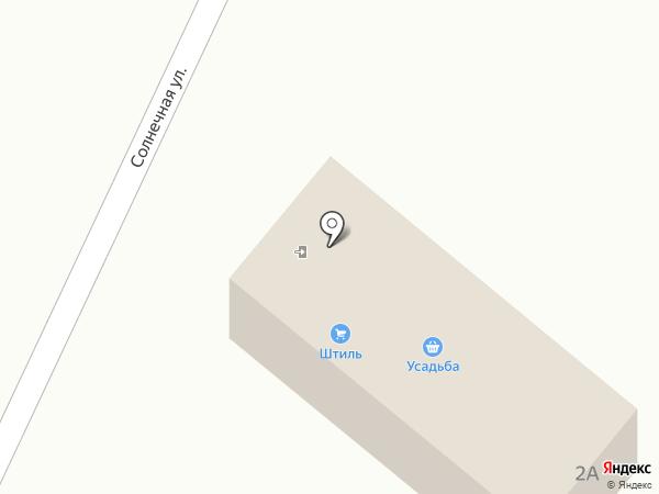 Штиль на карте