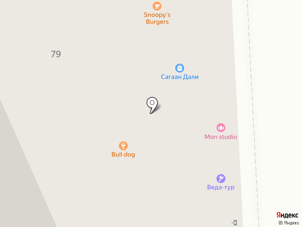 Хото на карте