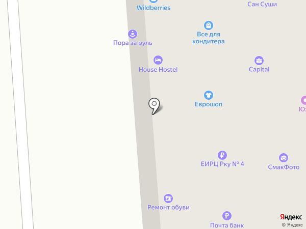 Калина на карте