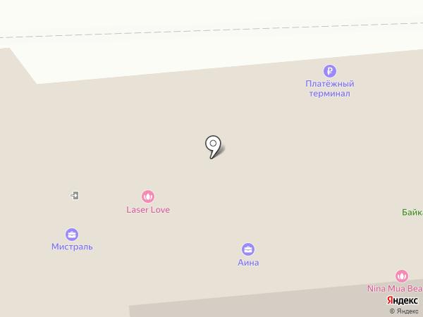 Алиса на карте