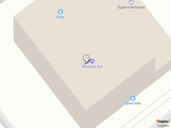 Плёс на карте