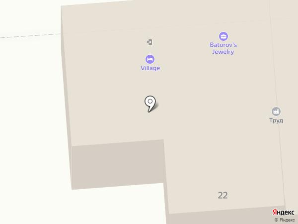 Дарья на карте