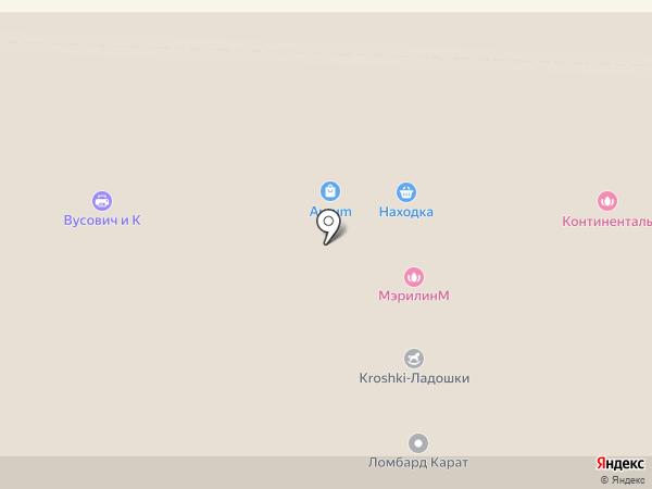 Just на карте