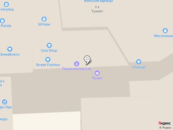 Galaxy на карте