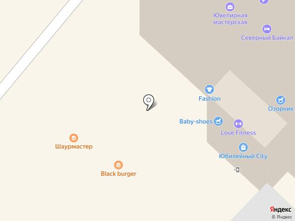 OLIVER на карте